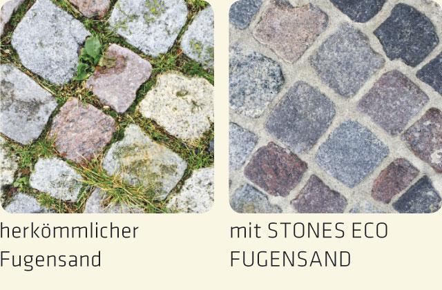 Bewuchshemmung Stones Eco Fugensand