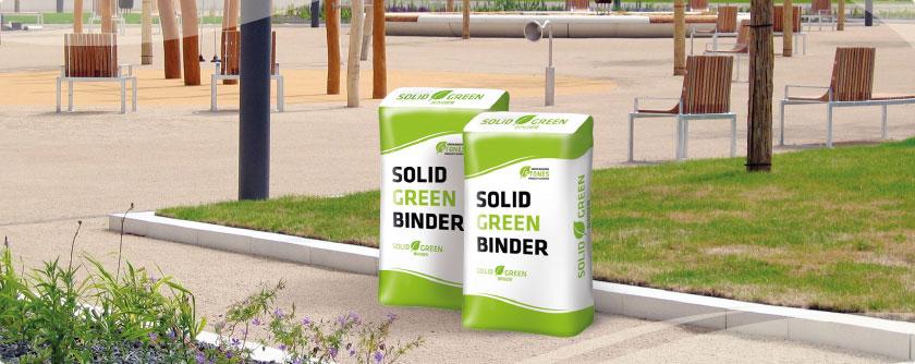 Solid Green Binder natürliches Bindemittel Wegedecken