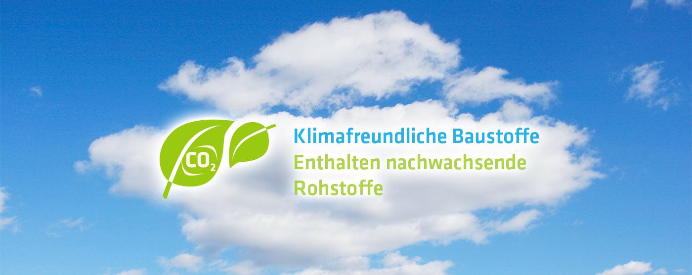 Klimafreundliche Baustoffe, enthalten nachwachsende Rostoffe
